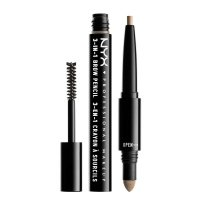 NYX Professional Makeup - SOURCILS 3IN1 BROW - Produkt 3w1 do makijażu brwi - 31B01 - BLONDE - 31B01 - BLONDE