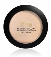 MILANI - PREP + SET + GLOW - ILLUMINATING TRANSPARENT FACE POWDER - Rozświetlający puder do twarzy