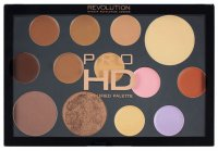 MAKEUP REVOLUTION - PRO HD THE FACE WORKS - MEDIUM DARK - Paleta do konturowania twarzy