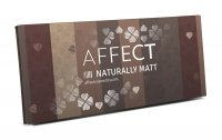 AFFECT - PRESSED EYESHADOWS PALETTE - Paleta 10 cieni prasowanych - NATURALLY MATT