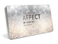 AFFECT - GLOSSY BOX - Aluminiowa pusta paleta magnetyczna