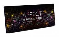 AFFECT - PRESSED EYESHADOWS PALETTE - Paleta 10 cieni prasowanych - PARTY ALL NIGHT