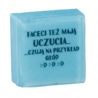 LaQ - Happy Soaps - Short Message Soap - Mydełko glicerynowe SMS - FACECI