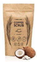 BARE CARE - COFFEE SCRUB - COCONUT - Peeling kawowy do ciała o zapachu kokosu - 200g