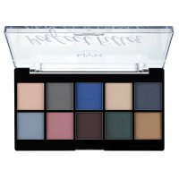 NYX Professional Makeup - Perfect Filter Eye Shadow Palette - Marine Layer - Paleta 10 cieni do powiek