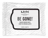 NYX Professional Makeup - BE GONE! MAKEUP REMOVER WIPES - Chusteczki do demakijażu