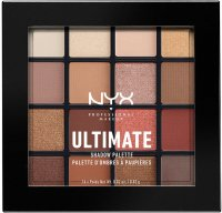 NYX Professional Makeup - ULTIMATE SHADOW PALETTE - WARM NEUTRALS - Paleta 16 cieni do powiek