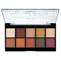 NYX Professional Makeup - Perfect Filter Eye Shadow Palette - Rustic Antique - Paleta 10 cieni do powiek