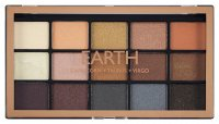 MAKEUP REVOLUTION - MY SIGN - Eyeshadow Palette - EARTH - Paleta 15 cieni do powiek