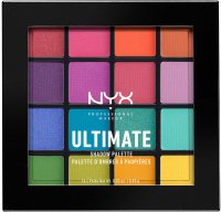NYX Professional Makeup - ULTIMATE SHADOW PALETTE - BRIGHTS - Paleta 16 cieni do powiek - PRIDE EDITION