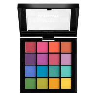 NYX Professional Makeup - ULTIMATE SHADOW PALETTE - BRIGHTS - Paleta 16 cieni do powiek