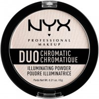 NYX Professional Makeup - Duo Chromatic Illuminating Powder - Rozświetlający puder do twarzy