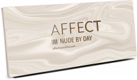 AFFECT - PRESSED EYESHADOWS PALETTE - Paleta 10 cieni prasowanych - NUDE BY DAY