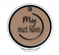 Essence - My Must Haves - Eyebrow Powder - Puder do brwi  - 20 - BOLD BLOND - 20 - BOLD BLOND