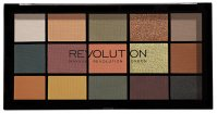 MAKEUP REVOLUTION - RE-LOADED - Zestaw 15 cieni do powiek - ICONIC DIVISION