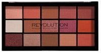 MAKEUP REVOLUTION - RE-LOADED - Zestaw 15 cieni do powiek - NEWTRALS 2