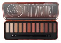 W7 - BLAZIN' NEUTRALS ON FIRE - Eye Colour Palette - Paleta 12 cieni do powiek