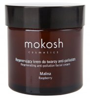 MOKOSH - REGENERATING ANTI-POLLUTION FACIAL CREAM - RASPBERRY - Regenerujący krem do twarzy - Malina - 60 ml