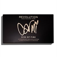 MAKEUP REVOLUTION - X CARMI - KISS OF FIRE PALETTE - Paleta do makijażu