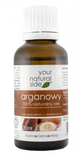 Your Natural Side - 100% naturalny olej arganowy - 30 ml
