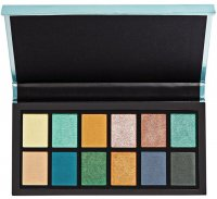 I HEART REVOLUTION - MERMAID'S HEART - EYESHADOW PALETTE - Paleta 12 cieni do powiek