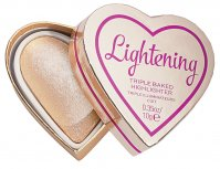 I HEART REVOLUTION - TRIPLE BAKED HIGHLIGHTER - Wypiekany rozświetlacz do twarzy - LIGHTENING