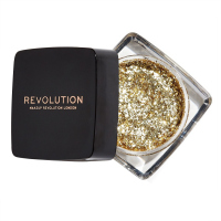 MAKEUP REVOLUTION - GLITTER PASTE POWDER - Brokat w żelu