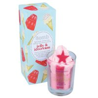 Bomb Cosmetics - Piped Candle with Pure Essential Oils - Jelly Icecream - Świeca zapachowa z pianką - JELLY ICECREAM