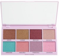 MAKEUP REVOLUTION - UNDER YOUR SPELL 8 JEWEL EYESHADOWS - Paleta 8 cieni do powiek