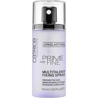 Catrice - PRIME AND FINE Multitalent Fixing Spray - Utrwalacz do makijażu w sprayu - 50 ml