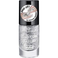 Essence - Glitter On, Glitter Off - Peel Off Nail Polish - Lakier do paznokci Peel Off - 01 - PUT A RING ON IT - 01 - PUT A RING ON IT