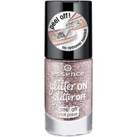 Essence - Glitter On, Glitter Off - Peel Off Nail Polish - Lakier do paznokci Peel Off