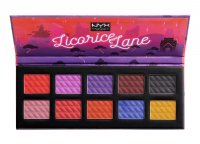 NYX Professional Makeup - Licorice Lane Shadow Palette - Paleta 10 cieni do powiek