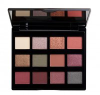 NYX Professional Makeup - MACHINIST SHADOW PALETTE - Paleta 12 cieni do powiek - 03 IGNITE