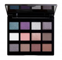 NYX Professional Makeup - MACHINIST Shadow Palette - Paleta 12 cieni do powiek - 02 STEAM