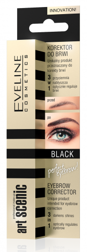 EVELINE - Art Scenic Eyebrow Corrector 3in1 - Korektor do brwi 3w1