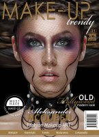 Magazyn Make-Up Trendy - OLD Hollywood modern look - No4/2018