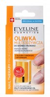 EVELINE - NAIL THERAPY PROFFESSIONAL Cuticles and Nails Multi-Nourishing Oil - Oliwka do skórek i paznokci z olejem z awokado i witaminami