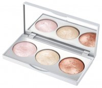 Golden Rose - STROBING HIGHLIGHTER PALETTE - Paleta 3 rozświetlaczy do twarzy