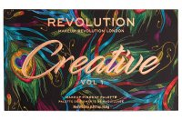 MAKEUP REVOLUTION - Creative Vol 1 Makeup Pigment Palette - Paleta 24 cieni do powiek