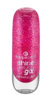 Essence - SHINE LAST & GO! GEL NAIL POLISH - Żelowy lakier do paznokci - 07 - PARTY PRINCESS - 07 - PARTY PRINCESS