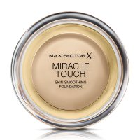 Max Factor - MIRACLE TOUCH - Skin Perfecting Foundation - Kremowy podkład do twarzy - 043 - GOLDEN IVORY - 043 - GOLDEN IVORY