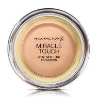 Max Factor - MIRACLE TOUCH - Skin Perfecting Foundation - Kremowy podkład do twarzy - 045 - WARM ALMOND - 045 - WARM ALMOND