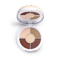I Heart Revolution - Donuts Eyeshadow Palette - Paleta 5 cieni do powiek - Chocolate Dipped