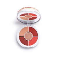 I HEART REVOLUTION - Dounats Eyeshadow Palette - Paleta 5 cieni do powiek - Strawberry Sprinkles