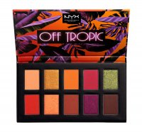 NYX Professional Makeup - OFF TROPIC - Shadow Palette - Paleta 10 cieni do powiek - 02 SHIFTING SAND