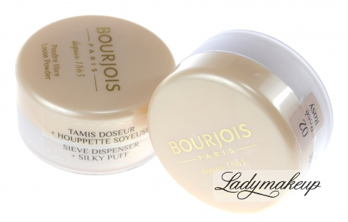 Bourjois - Loose Powder, Airy Finish - Puder sypki