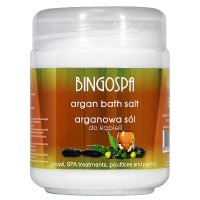 BINGOSPA - Argan Bath Salt - Arganowa sól do kąpieli - 550g