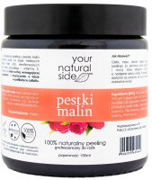 Your Natural Side - 100 % naturalny peeling z pestkami malin