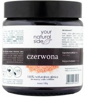 Your Natural Side - 100% naturalna glinka czerwona - 100 g